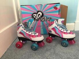 Girls Rio roller skates U.K. size 2
