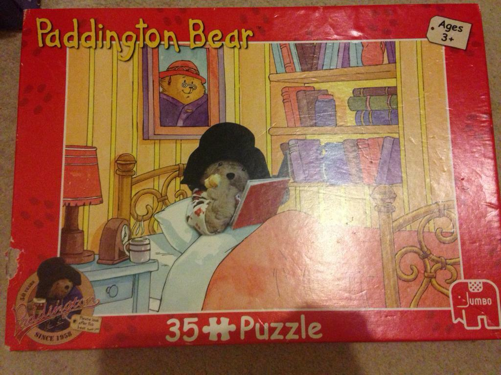 Paddington Bear Jigsaw