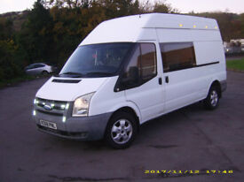 transit van 8 months mot very clean van 6 seats brand new alloys and tyres