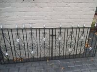 Rust Free Gates 8ft x 3ft 2in these gates unfortunately have no posts must be seen to be appreciated