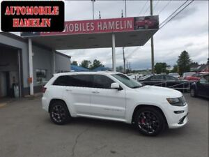 2014 Jeep Grand Cherokee SRT8 gps toit garantie plan  or