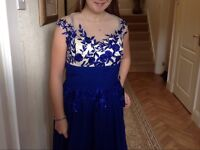 Bridesmaid / prom dress never warn still with LABLE UK size 12