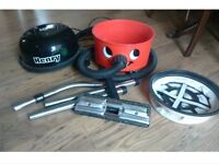 Henry Hoover with tools