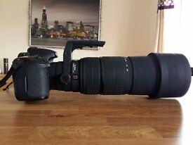 SIGMA 120-300 f2.8 EX APO DG HSM, CANON fit lens