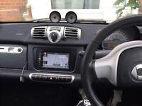Smart car 2013 44800 miles with sat nav