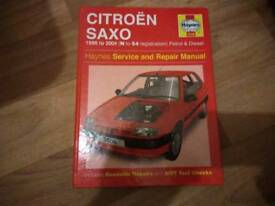 Saxo Haynes manual