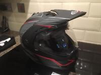 Caberg Tourmax Sonic Flip Front Large Adventure Helmet only used once!