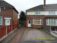 2 BEDROOM HOUSE TO LET, GREAT BARR, DRIVEWAY, UNFURNISHED