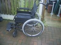 Wheelchair self propelled excellent condition