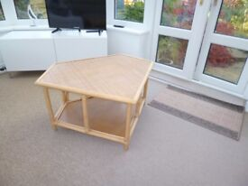 Cane, Corner Table/TV Table
