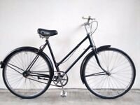 """SALE!! (2706) 26"""" 21"""" RALEIGH SINGLE SPEED VINTAGE COMMUTER CITY TOWN BIKE BICYCLE Height: 175-190cm"""