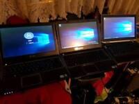 Job lot 3 dell laptops i3 4gb-8gb 500gb Windows 10