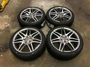"18"" Mercedes-Benz Wheels and 225/40R18 Winter Tires (C Class)"