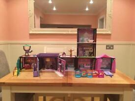 Littlest pet shop bundle houses set