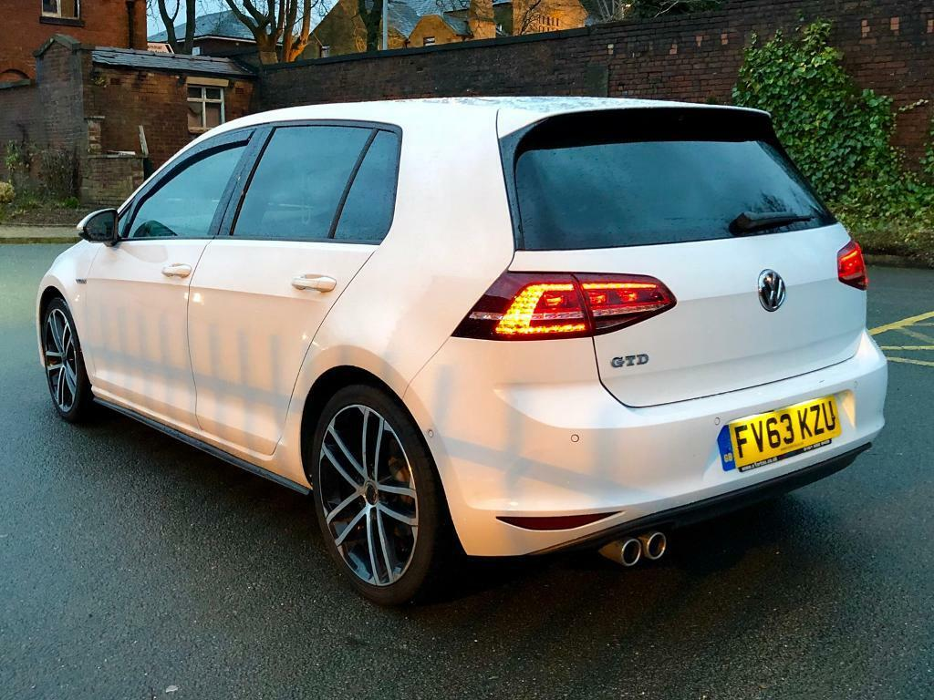 VOLKSWAGEN GOLF GTD 184BHP 2014+HPI CLEAR+HEATED SEATS+IMMACULATE EXAMPLE PX SWAP