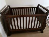 Boori County collection sleigh cot bed