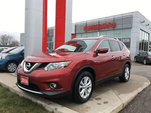 2014 Nissan Rogue SV, FOGS, DUAL ROOF, HEATED SEATS