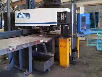 Whitney 3400 Xp Cnc Punch Plasma B33087
