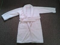 Girls Pink Jasper Conran dressing gown - nice Christmas present