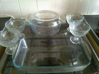 Glass cooking ware
