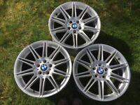 BMW 19 inch Alloys