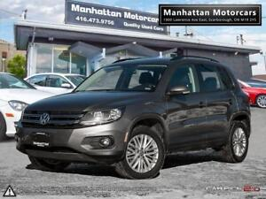 2016 VOLKSWAGEN TIGUAN SE 4MOTION |BLUETOOTH|CAMERA|ONLY 46000KM
