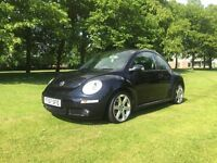 2007 VOLKSWAGEN BEETLE LUNA 75PS BLACK CAT D REPAIRED
