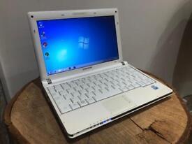 Samsung NP-NC10 Notebook 148GB HDD 1GB RAM WINDOWS 7 (fast)