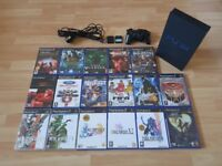 Playstation 2 / PS2 + accessories + 17 Games!