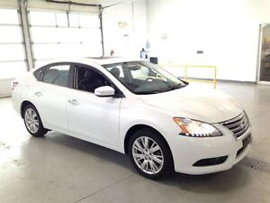 2013 Nissan Sentra SL| LEATHER| NAVIGATION| SUNROOF| BACKUP CAM| Cambridge Kitchener Area image 8