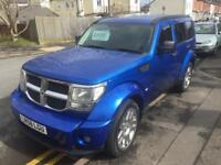 Bargain dodge nitro 2.8 card diesel sxt Automatic 2008 best colour