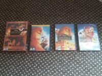 The Lion King Trilogy - DVD collection