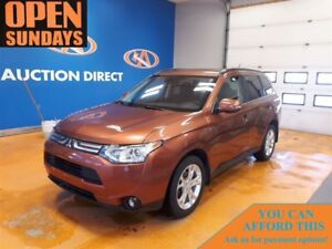 2014 Mitsubishi Outlander GT V6! SUNROOF! LEATHER! 7 PASSENGER!