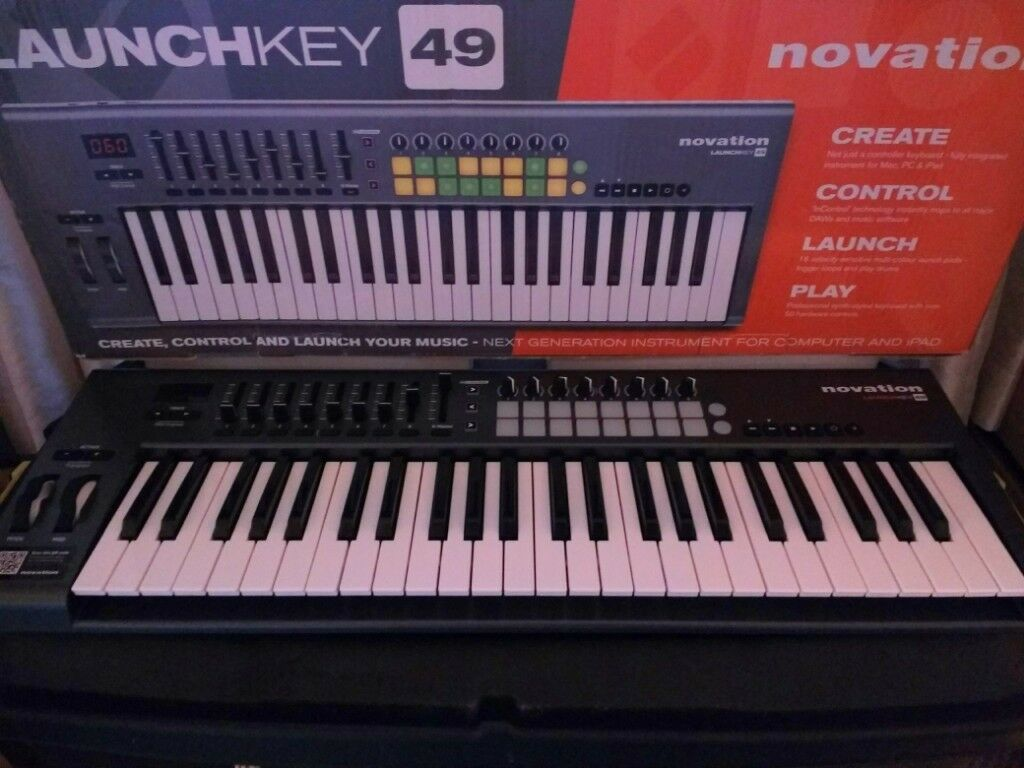 Novation Launch Key 49  Midi controller  PC/Mac/iPad compatible  | in  Warminster, Wiltshire | Gumtree