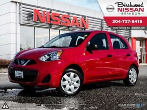 2015 Nissan Micra S S Manual Transmission! Local! ONE Owner!