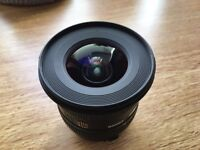 Sigma EX 10-20mm F/4.0-5.6 HSM DC EX Lens For Canon Wide Angle Lens DSLR
