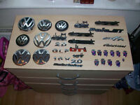 VW Golf gti etc badges,emblems etc , job lot , some Ford as well