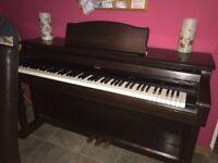Roland digital piano.