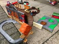 Thomas misty island take and play with trains and extra take and play set