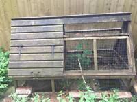 Large Chicken hut house coop