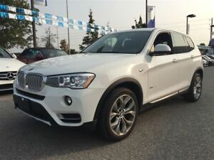 2017 BMW X3 *xDrive28i|Navigation|Sunroof