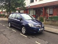 7 Seater Vauxhall Zafira 1.7cdti in excellent condition cctv, reverse sensors