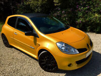 RARE! Renault Clio 2.0 197 Sport Renaultsport Liquid Yellow FSH HPI Clear Fully Powerflexed Modified