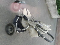 Mamas and papas three wheeler all terrain sports buggy stroller pushchair