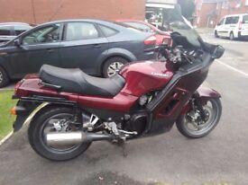 Motorbike, kawasaki gtr1000, mot june 2018,