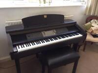 Yamaha clavinova CVP 207 digital piano in excellent condition
