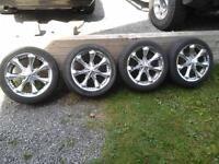 4 mag 22.pouces avec pneus Bridgestone 285.45.22