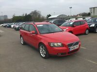 VOLVO V50 2.0 DIESEL ESTATE SERVICE HISTORY LEATHER RUNS PERFECT BARGAIN