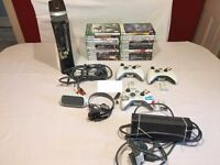 xbox 360 16GB console bundle 24 games