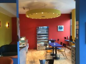 Fully fitted and ready to open coffee shop to lease